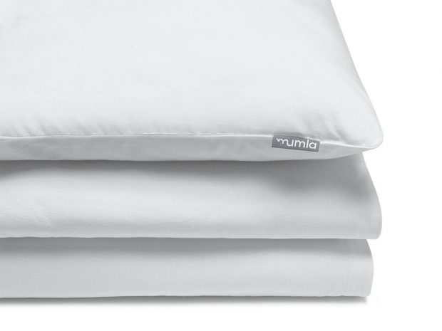 bedding set basic white - MUMLA