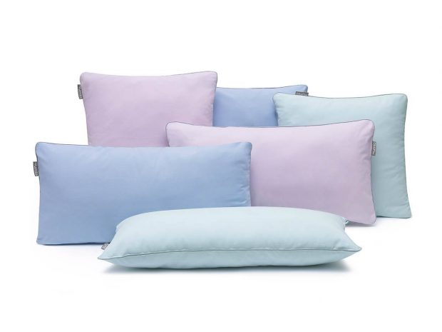 pillowcase basic pink grey- MUMLA