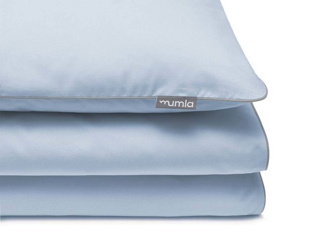 bedding set basic blue - MUMLA