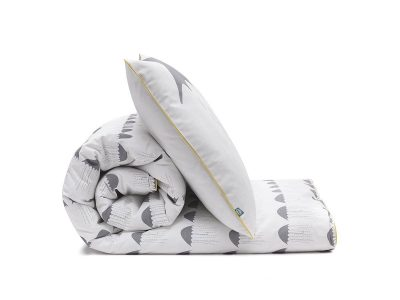 bedding set grey umbrellas - MUMLA