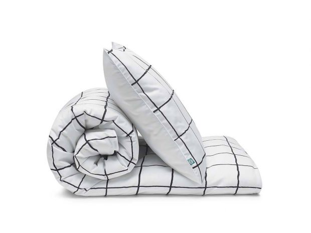 bedding set grid - MUMLA