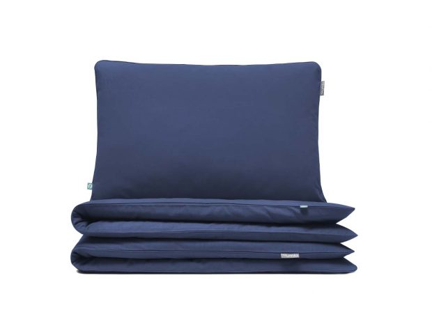 bedding set basic navy blue - MUMLA