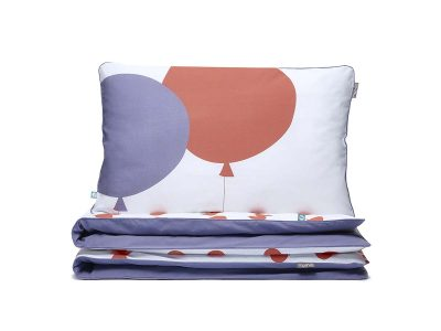 bedding set red balloons - MUMLA