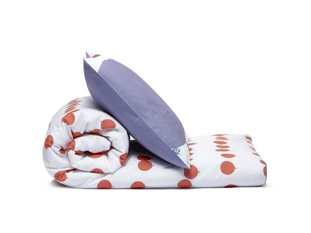 bedding set red balloons - MUMLA