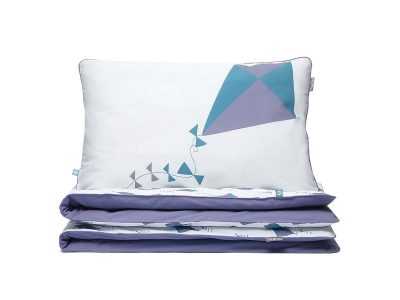 bedding set kites violet - MUMLA