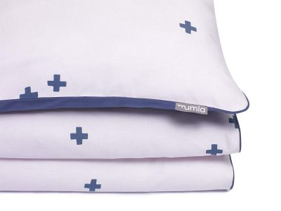 bedding set crosses pink  - MUMLA