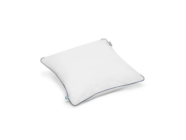 cushion basic white navy blue-mumla