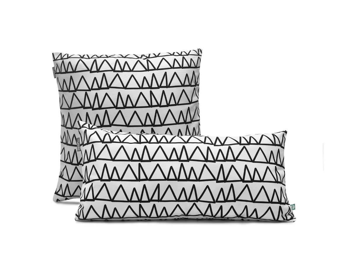 poduszka dekoracyjna - trójkąty - MUMLA