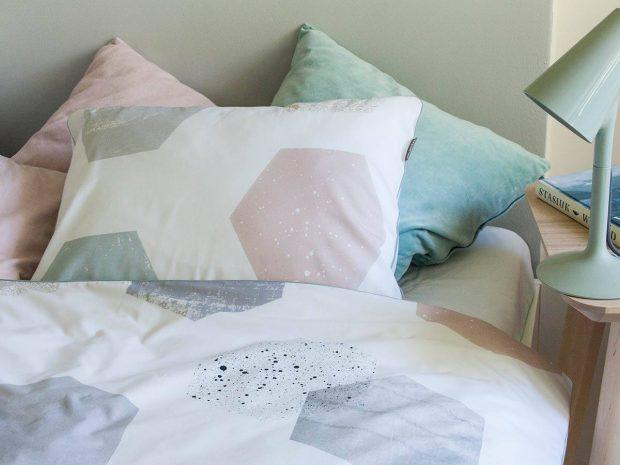 styl skandynawski w sypialni