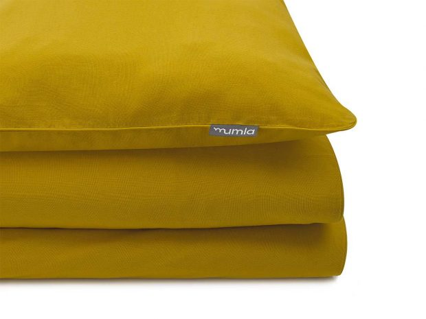 bedding set basic mustard - MUMLA