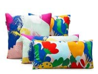 poduszka dekoracyjna – kwiaty – MUMLA – 003