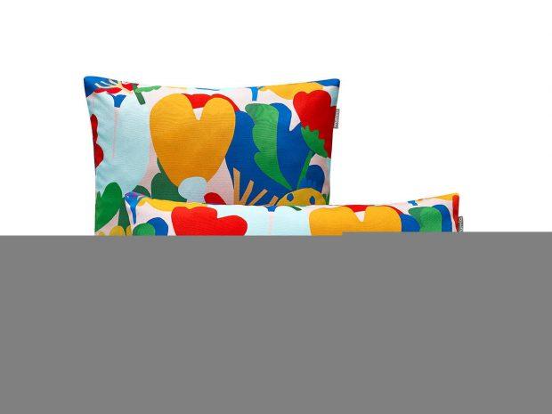 poduszka dekoracyjna - kwiaty - MUMLA