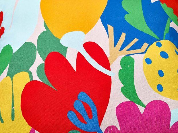 poduszka dekoracyjna - kwiaty - MUMLA Poszewka Kwiaty