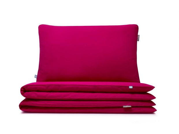 bedding-set-basic-raspberry---MUMLA