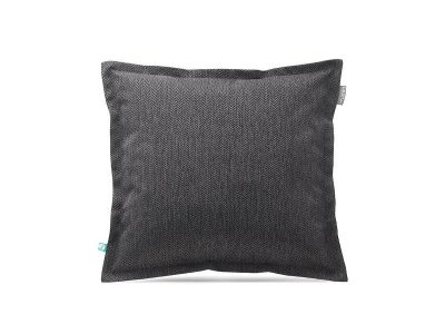 decorative pillow case HERRINGBONE charcoal---MUMLA