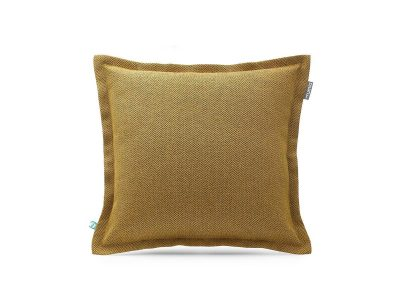 decorative pillow case HERRINGBONE mustard---MUMLA