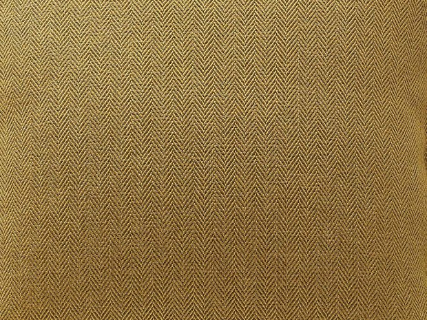 decorative pillow case HERRINGBONE mustard---MUMLA