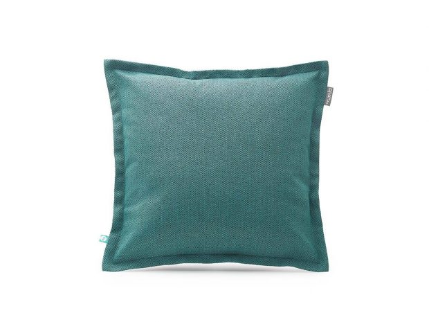 decorative pillow case HERRINGBONE turquoise--MUMLA