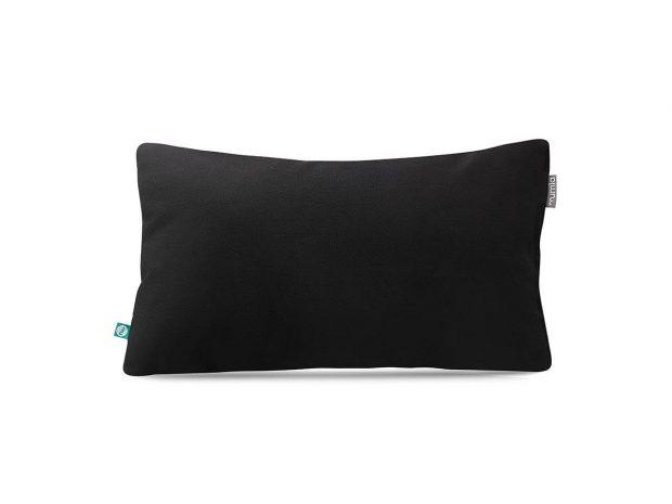 decorative pillow case velour black---MUMLA