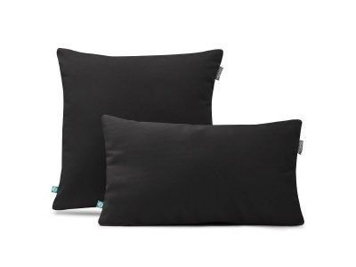 decorative pillow case velour black---MUMLA
