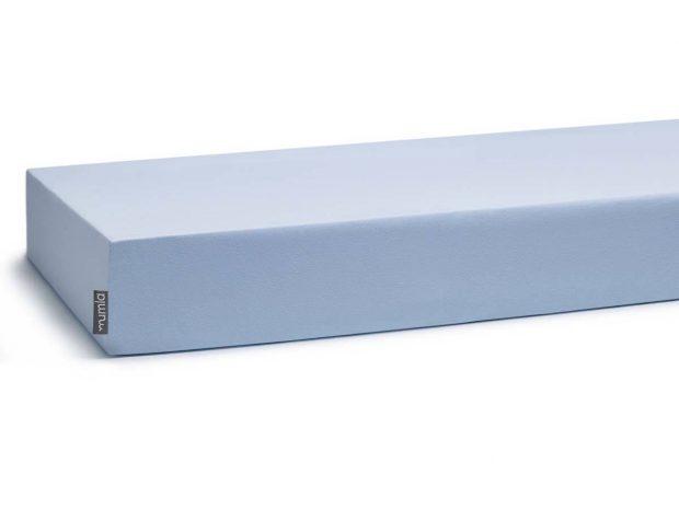 prześcieradło niebieskie z gumką - MUMLA - 001