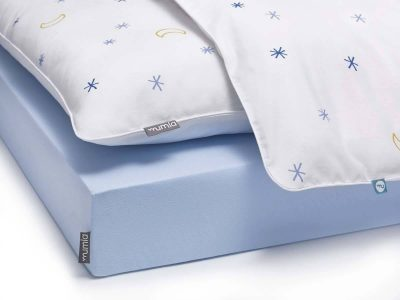 bed sheet blue - MUMLA