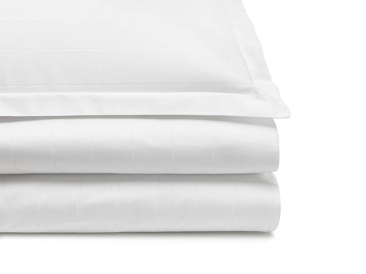 bedding set LUX white stripes - MUMLA