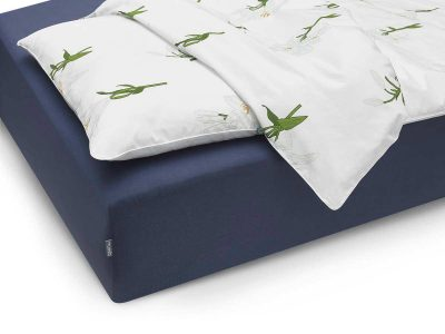 bed sheet navy blue - MUMLA
