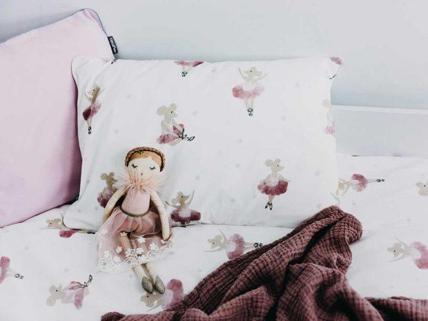 pościel baletnice MUMLA pościel dla dziewczynki pościel dla dzieci