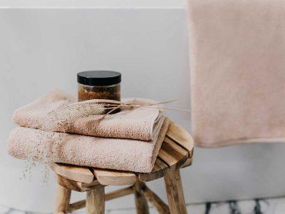 ręcznik beżowy zestaw - MUMLA - 001 bawełniany ręcznik beżowy