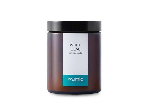 świeca-white lilac---MUMLA---001 świece zapachowe
