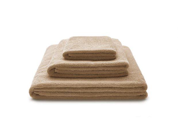 ręcznik beżowy zestaw - MUMLA - 001 bawełniany ręcznik beżowy bawełniane ręczniki beżowe