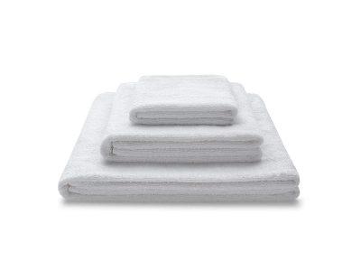 ręcznik biały zestaw - MUMLA - 001 bawełniane ręczniki białe