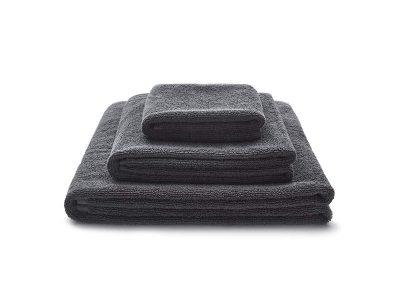 ręcznik grafitowy zestaw - MUMLA - 001 ręcznik beżowy zestaw - MUMLA - 001 ręcznik bawełniany Zestaw ręczników grafitowych