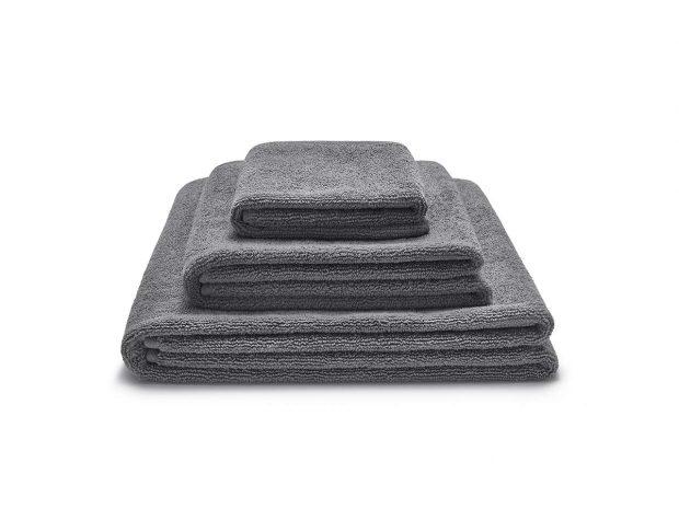 zestaw ręczników szarych