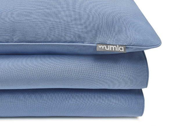 pościel basic niebieski - MUMLA - 002