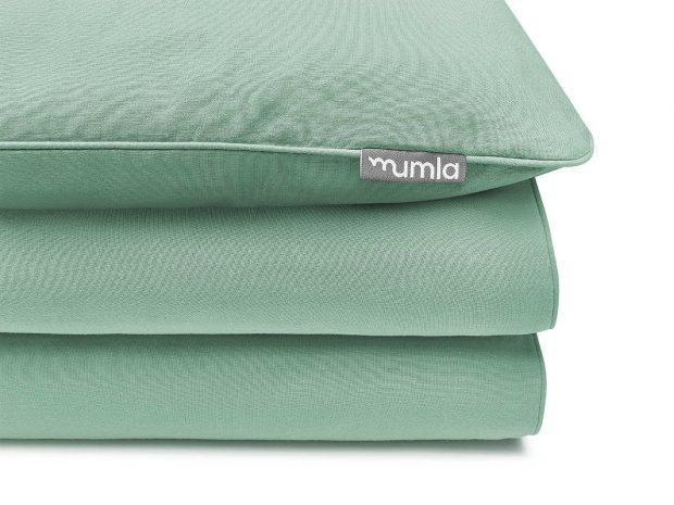pościel basic zielony - MUMLA - 002 Poszewka Basic Zielony