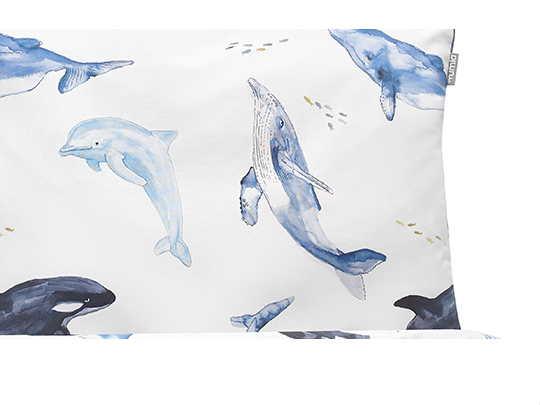 pościel wieloryby - MUMLA