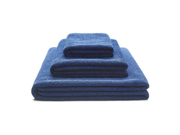 ręcznik granatowy zestaw - MUMLA