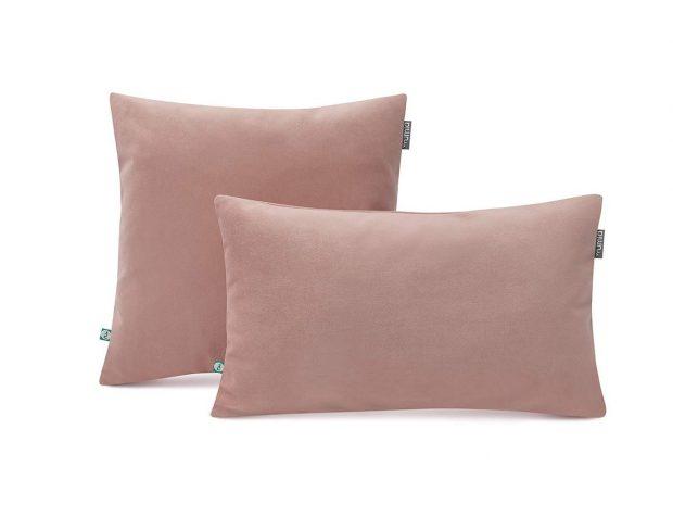 poduszka-dekoracyjna-velvet-pudrowy-róż