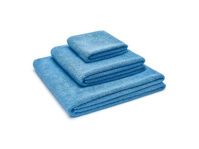 ręcznik bawełniany niebieski
