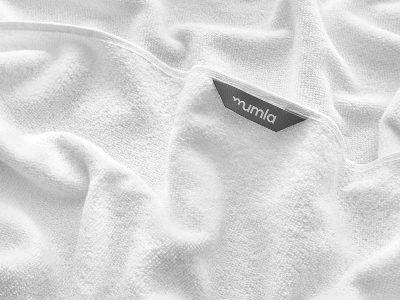ręcznik bawełniany biały light - MUMLA