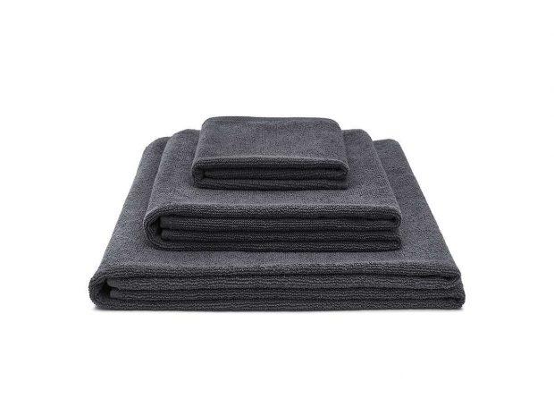 ręcznik bawełniany grafitowy light zestaw - MUMLA