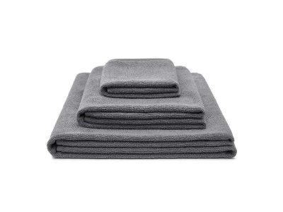 ręcznik bawełniany szary light zestaw - MUMLA